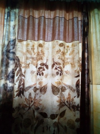 Natural Dye Curtain