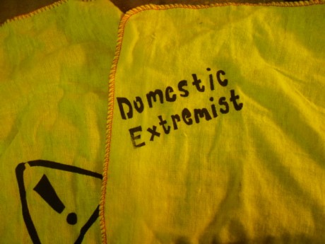 prop from the domestic extremists at AWE Aldermaston