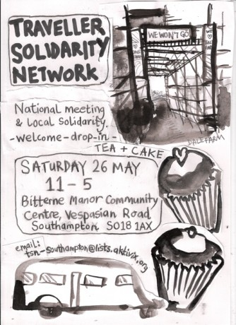 Traveller Solidarity Network event